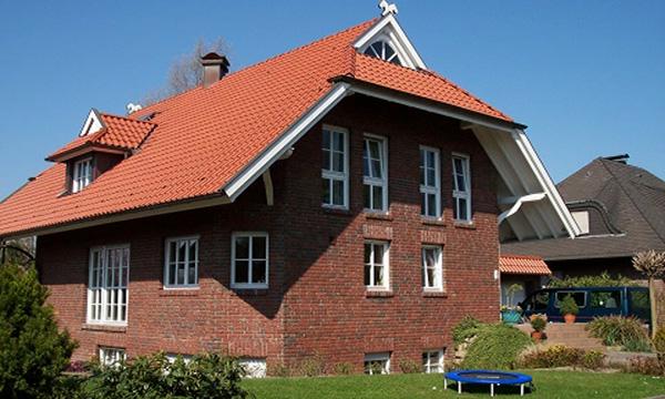 Einfamilienhaus in Hamm</br>NF Röben - Handform - Klinker