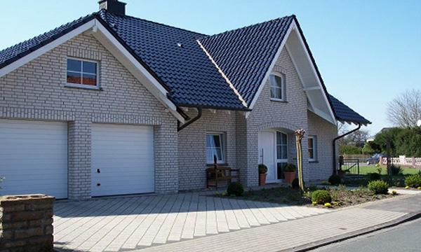 Einfamilienhaus in Hamm</br>KS Verblender - Weiss - Bossiert