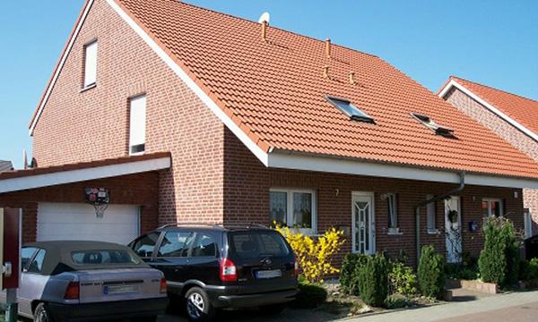 Mehrere Doppelhaushälften in Hamm</br>WDF Holland - Klinker