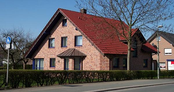 Musterhaus in Welver</br>NF Bertram - Klinker